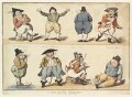 'A new Dutch exercise', by Isaac Cruikshank, published by  Samuel William Fores - NPG D13082