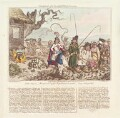 'Consequences of a successful French invasion, No III, plate 2d' (Charles James Fox?), by and published by James Gillray - NPG D13088