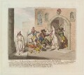 'Consequences of a successful French invasion, No VI, plate 1st', by and published by James Gillray - NPG D13089