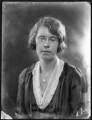 Frances Pennington Hopwood Viney (née Hopwood), by Bassano Ltd - NPG x121369