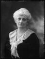 Alice Augusta Laurentia Lane (née Fox-Pitt-Rivers), Lady Avebury, by Bassano Ltd - NPG x121375
