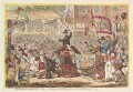 'Middlesex-election. 1804', by James Gillray, published by  Hannah Humphrey - NPG D13108