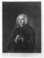 John Gambold, by Jonathan Spilsbury, published by  J. West, after  Abraham Louis Brandt - NPG D13265
