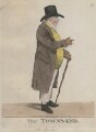 John Townsend ('The Towns-end'), by and published by Robert Dighton - NPG D13308
