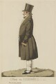 Thomas Bish ('A view on Cornhill'), by and published by Richard Dighton - NPG D13319