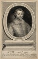 Unknown man engraved as Sir Francis Drake, by Robert White - NPG D13560
