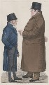 'A contract' (Mr Damington; Mr Tremloe), by and published by Richard Dighton - NPG D13369