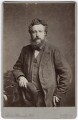 William Morris, by London Stereoscopic & Photographic Company - NPG x3727