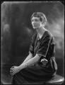Victoria Wyndham Dorothy Frift (née Vernon), by Bassano Ltd - NPG x121539
