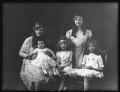 Five daughters of Sir Samuel Instone, by Bassano Ltd - NPG x121575