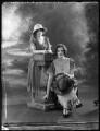 Beatrice Helen Eden (née Beckett); Lady (Mary) Diana Worthington (née Duncombe), by Bassano Ltd - NPG x121621