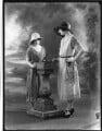Lady (Mary) Diana Worthington (née Duncombe); Beatrice Helen Eden (née Beckett), by Bassano Ltd - NPG x121622