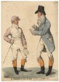 'A hero of the turf & his agent' (Frank Buckle; Henry Francis Mellish), by and published by Robert Dighton - NPG D13422