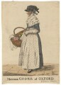 Rebecca Howse (née Wildgoose) ('Mother Goose of Oxford'), by and published by Robert Dighton - NPG D13432