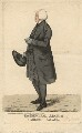 John Moore ('The Principal Arch of Lambeth Palace'), by and published by Robert Dighton - NPG D13438