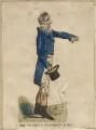 Sir Francis Burdett, 5th Bt, published by Thomas McLean, after  Richard Dighton - NPG D13628