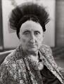 Edith Sitwell, by BBC - NPG x125617