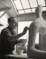 Henry Moore, by Lola Walker (Lola Marsden) - NPG x125628