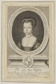 Anne, Countess of Pembroke (Lady Anne Clifford), by Robert White, published by  Pierce Tempest - NPG D13681