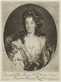 Mary of Modena, by John Smith, published by  Alexander Browne, after  Nicolas de Largillière - NPG D13685