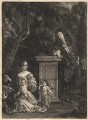 Nicolas de Largillière; his wife and his son and daughter, by Isaac Beckett, after  Nicolas de Largillière - NPG D13683