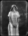 Hon. Barbara Mary Frankland, by Bassano Ltd - NPG x121765