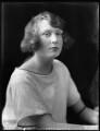 Hon. Barbara Mary Frankland, by Bassano Ltd - NPG x121766