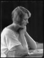 Hon. Barbara Mary Frankland, by Bassano Ltd - NPG x121767