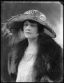 Ella Louise (née Catford), Viscountess Falkland, by Bassano Ltd - NPG x121795