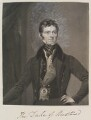 John Henry Manners, 5th Duke of Rutland, by and published by William Say, after  Octavius Oakley - NPG D11330