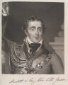 Arthur Wellesley, 1st Duke of Wellington ('Health and long life to the King'), by William Say, published by  William Sams, after  Michael William Sharp - NPG D11380