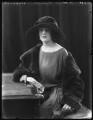 Mary Frances Katherine Dent, 19th Baroness Furnivall, by Bassano Ltd - NPG x121941