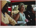 Mama Ngina; Queen Elizabeth II; Jomo Kenyatta, by Thomas Patrick John Anson, 5th Earl of Lichfield - NPG x29566