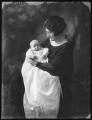 Elizabeth Valerie Cross (née Eaton); Sheila Marguerite Eaton (née Dumbleton), by Bassano Ltd - NPG x122065