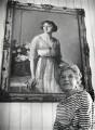 Dame Gladys Cooper, by Godfrey Argent - NPG x165647