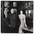 Sir Eduardo Paolozzi; Anna Paolozzi, by Emily Andersen - NPG x125845