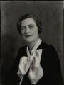 Mary Spencer-Churchill (née Cadogan), Duchess of Marlborough, by Bassano Ltd - NPG x81223