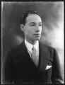 Sir Philip Albert Gustave David Sassoon, 3rd Bt, by Bassano Ltd - NPG x80964