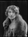 Hon. Harriet Fane (née Hepburn-Stuart-Forbes-Trefusis), by Bassano Ltd - NPG x28115