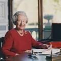 Queen Elizabeth II, by David Secombe - NPG x125853