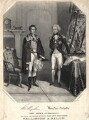 Arthur Wellesley, 1st Duke of Wellington; Horatio Nelson, by T.C. Wilson, printed by  W. Clerk, published by  E. Glover - NPG D13770
