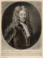 Sir Christopher Wren, by John Smith, after  Sir Godfrey Kneller, Bt - NPG D17862