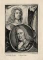 Sir Godfrey Kneller, Bt; Gerard Hoet, by Jacobus Houbraken, after  Sir Godfrey Kneller, Bt, and after  Unknown artist - NPG D17864