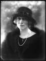 Angela Mary (née Corbally), Lady Tyrwhitt, by Bassano Ltd - NPG x122324