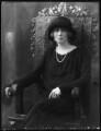 Angela Mary (née Corbally), Lady Tyrwhitt, by Bassano Ltd - NPG x122326