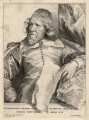 Inigo Jones, by Robert van Voerst, after  Sir Anthony van Dyck - NPG D17865