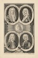 George II and his officials, by Thomas Jefferys - NPG D17871