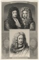 George Savile, 1st Marquess of Halifax; John Somers, Baron Somers; John Churchill, 1st Duke of Marlborough, after Unknown artists - NPG D17874