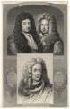 George Savile, 1st Marquess of Halifax; John Somers, Baron Somers; John Churchill, 1st Duke of Marlborough, after Unknown artists - NPG D17874