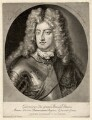 Prince George of Denmark, Duke of Cumberland, by Pieter Schenck, after  Unknown artist - NPG D17875